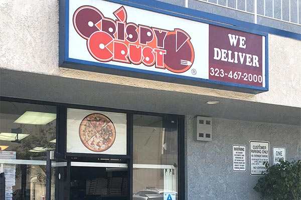 Crispy Crust Pizza Hollywood
