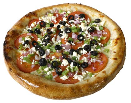 The Greek Pizza