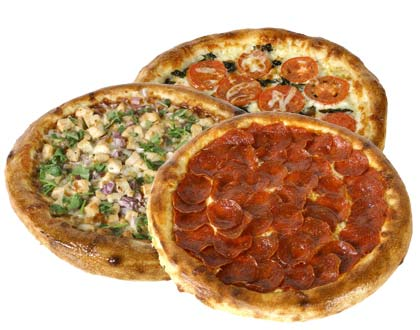 Special - 3 Small 2 Topping Pizzas $24.99