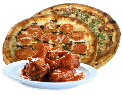 Special - 2 Medium 2 Topping Pizzas & 18 Piece Wings $34.99