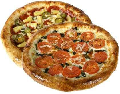 Special - 2 Small 2 Topping Pizzas $17.99